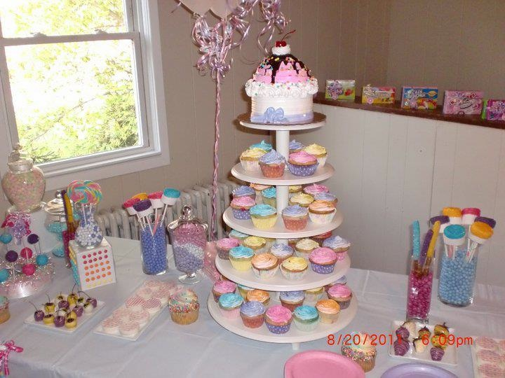 Candy Themed Dessert Table