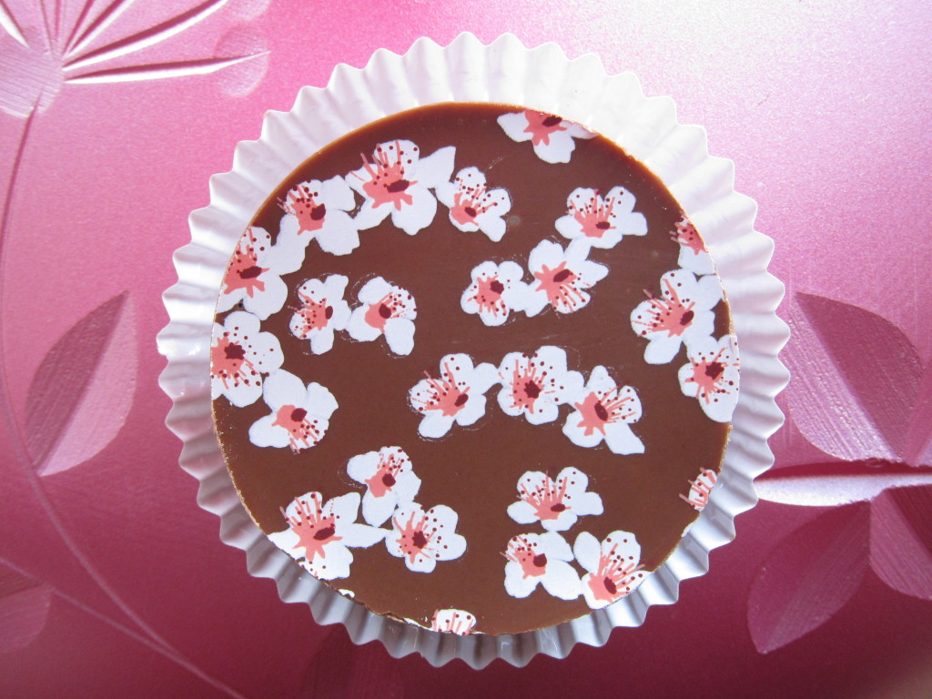 Cherry Blossom Chocolate Covered Oreos