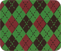argyle_red_green
