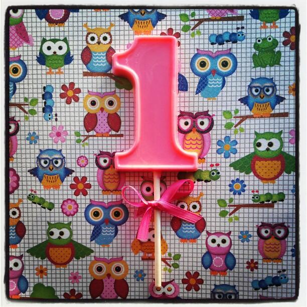 1st Birthday Lollipop
