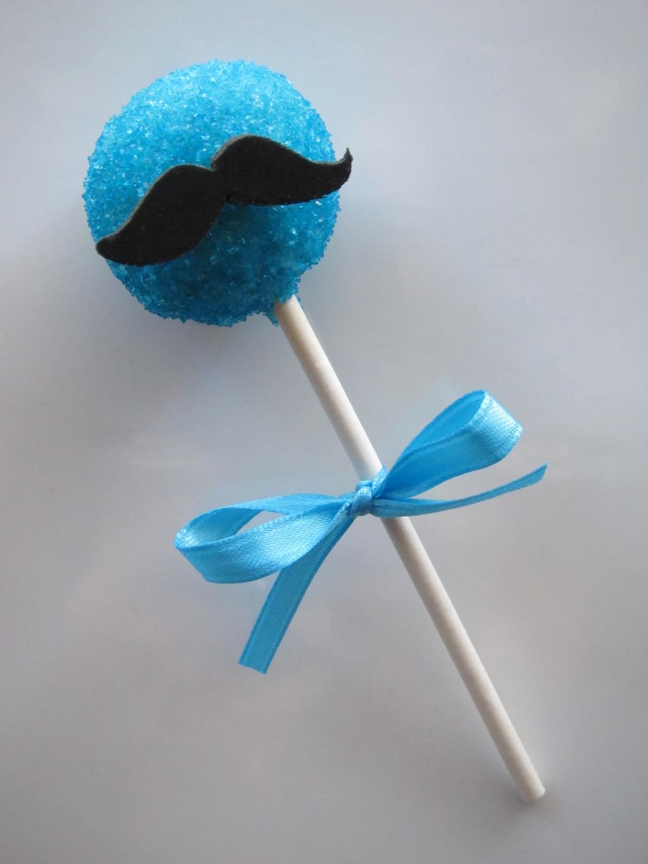 Mustache Cake Pop