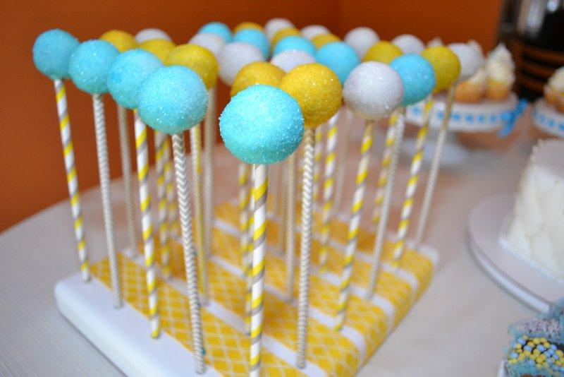 Baptism Cake Pops & Oreo Truffle Pops