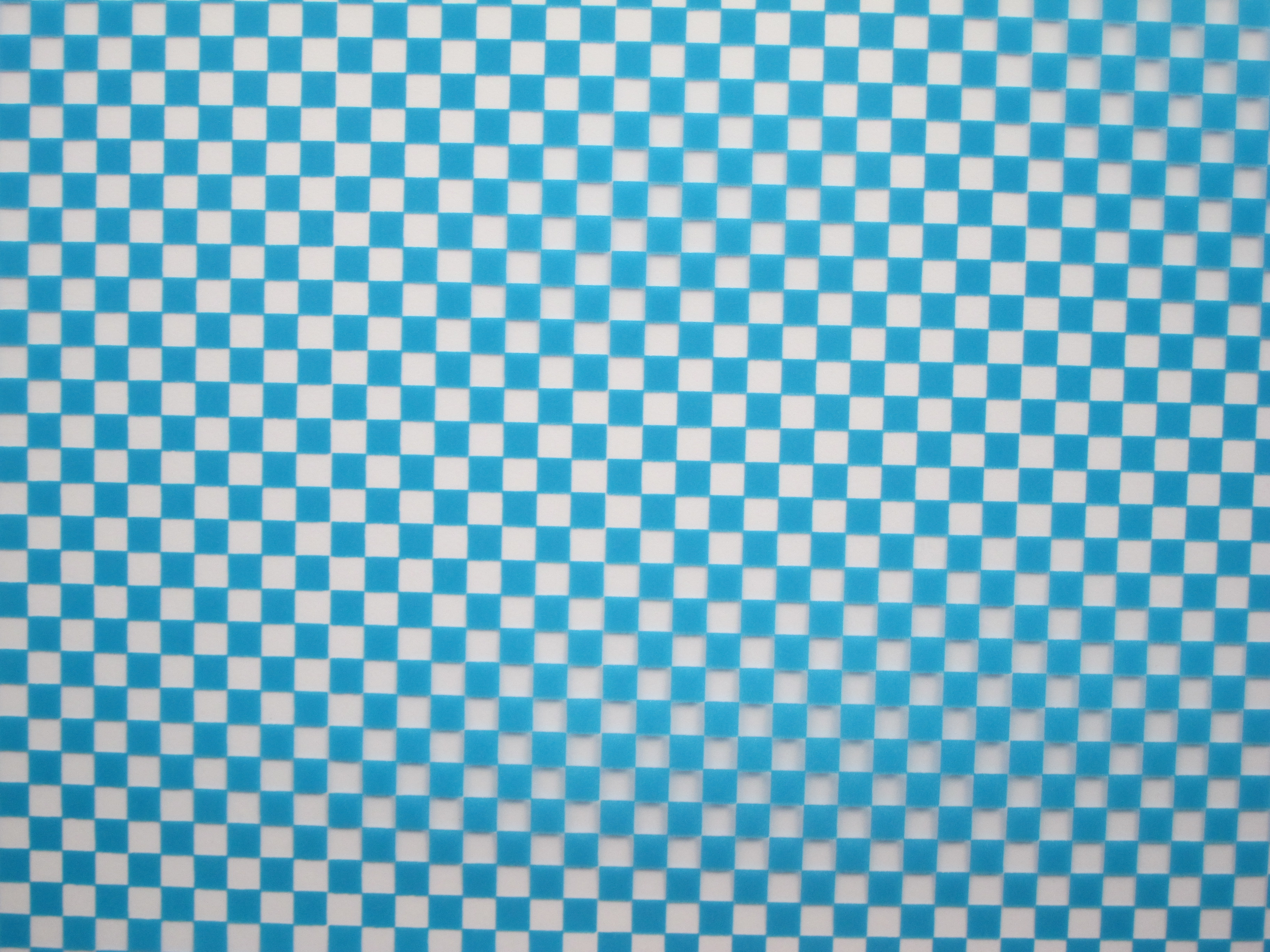 Light Blue Checkerboard