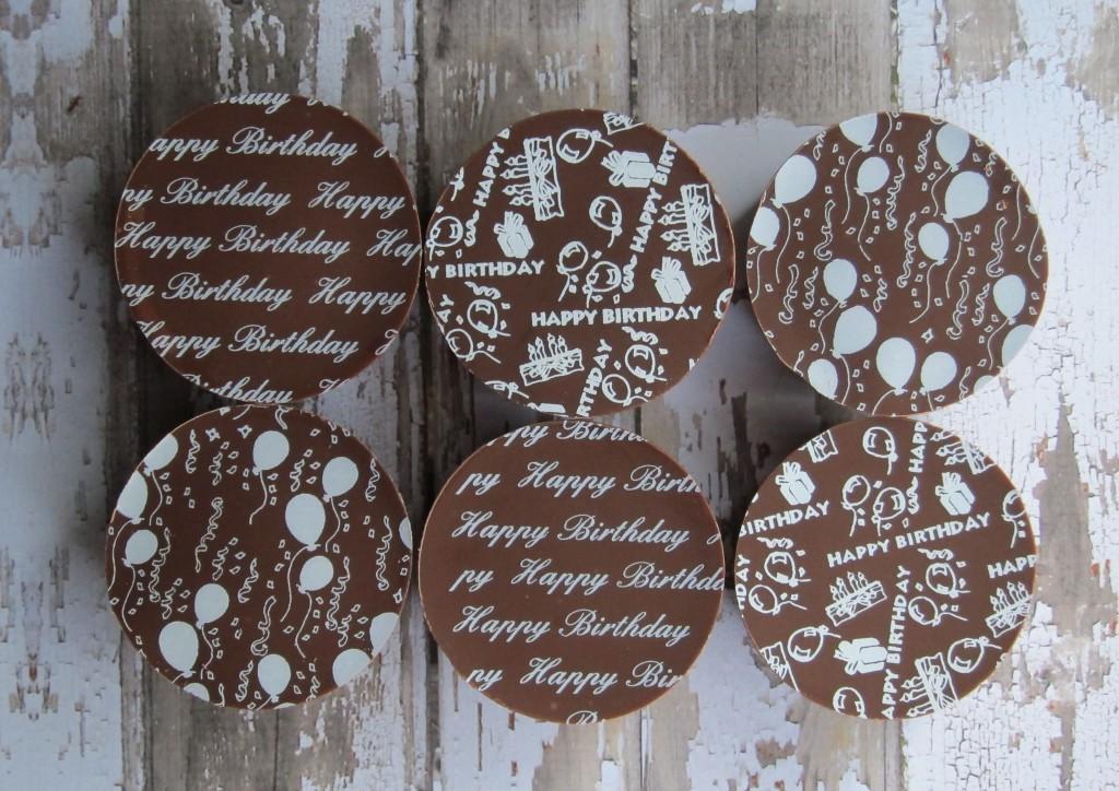 Happy Birthday Milk Chocolate Dipped Oreos