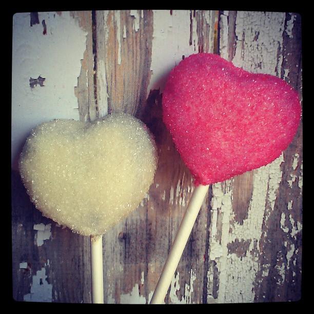 Pink & White Heart Oreo Truffle Pops