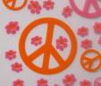 Pink & Orange Peace