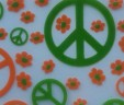 Green & Orange Peace