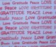 Pink Peace, Love, & Gratitude