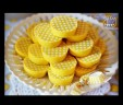 Yellow White Polka Dot Chocolate Covered Oreos