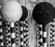 Black & White Cake Pops