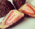 Brigadeiro Covered Strawberries
